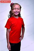 Детская футболка. Красный.