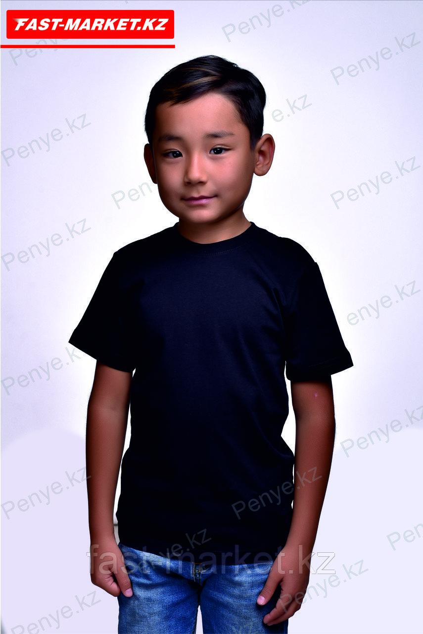 Детская футболка. Черный.