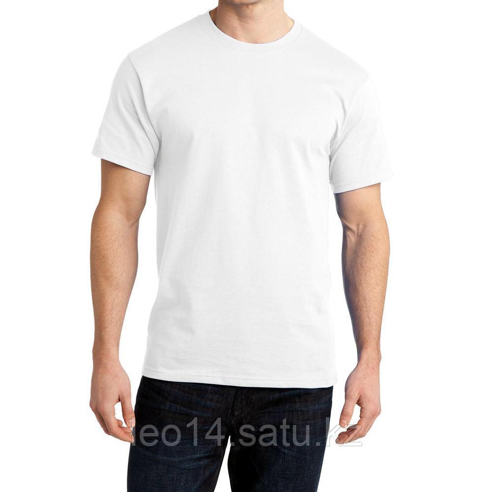 """Футболка для сублимации Сэндвич """"Unisex"""" цвет: белый, размер 56(3XL)"""