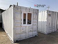 Утепленный 20ф контейнер под офис и бытовку