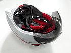 Велосипедный аэродинамичный шлем с очками, фото 7