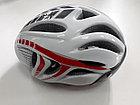 Велосипедный аэродинамичный шлем с очками, фото 4