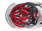 Велосипедный аэродинамичный шлем с очками, фото 6