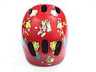 Детский велосипедный шлем Бренд Ventura. Немецкое качество. Размер 52-57 S. Kspi RED. Рассрочка., фото 2