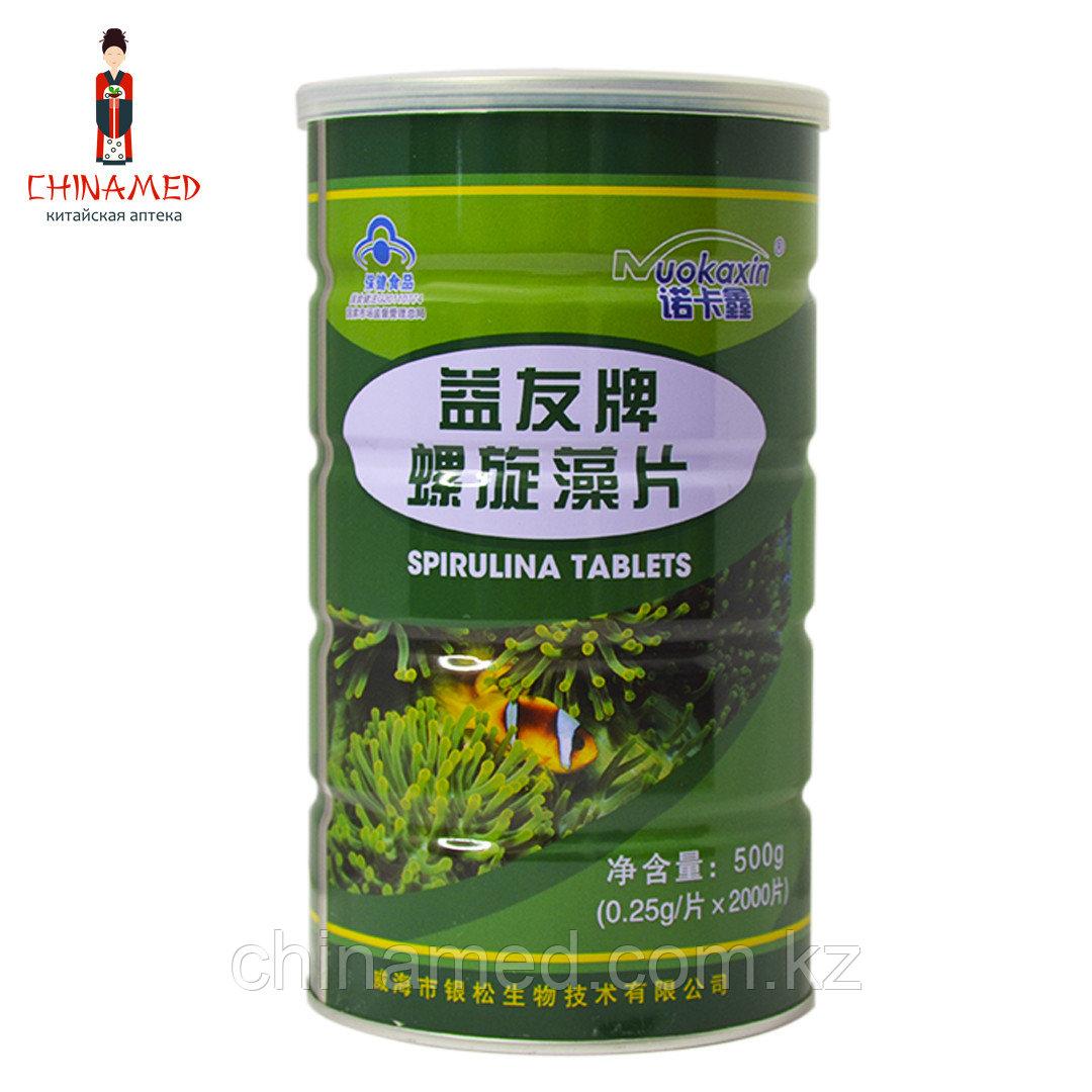"""Таблетки """"Спирулина"""" (Green Classic Spirulina) 1000 шт (Микроэлементы, большое содержание йода)"""