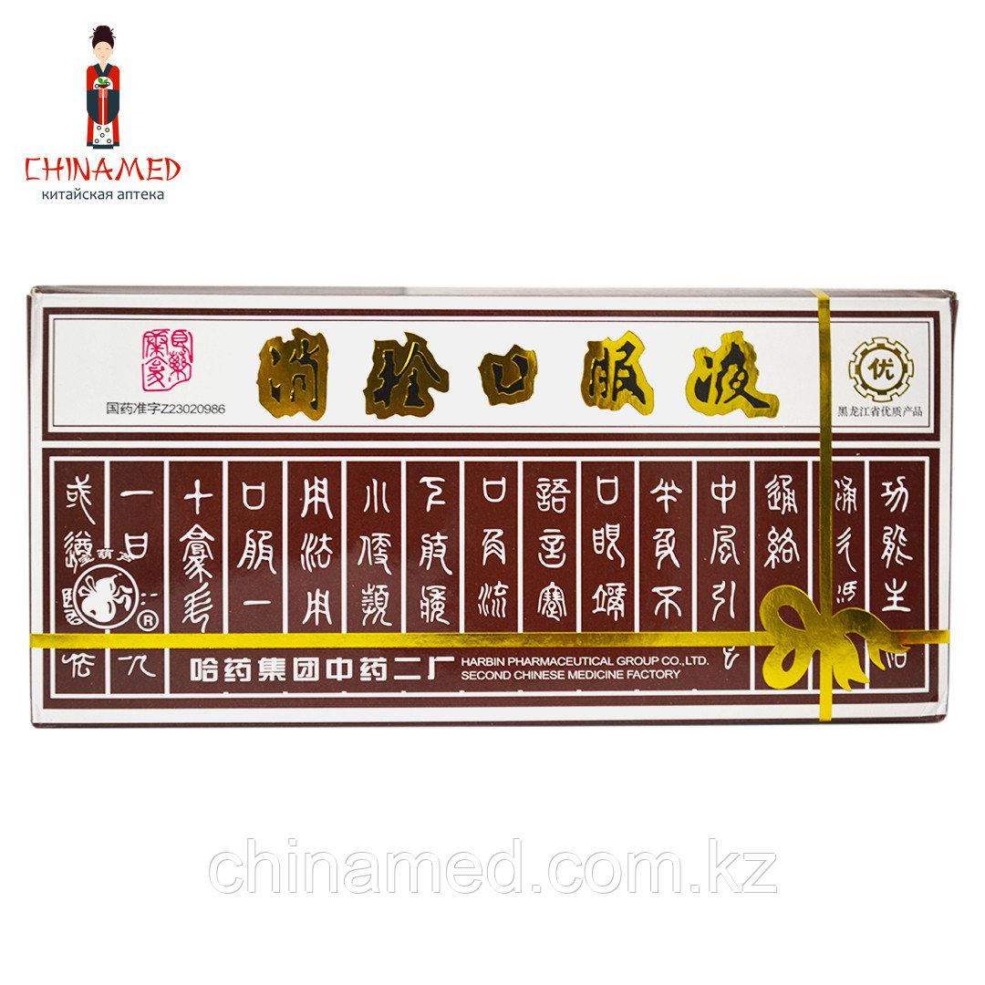 Противотромбовый жидкий эликсир Xiao ShuAn/Сяо Шуан (Сосуды головного мозга, сосуды сердца, варикоз)
