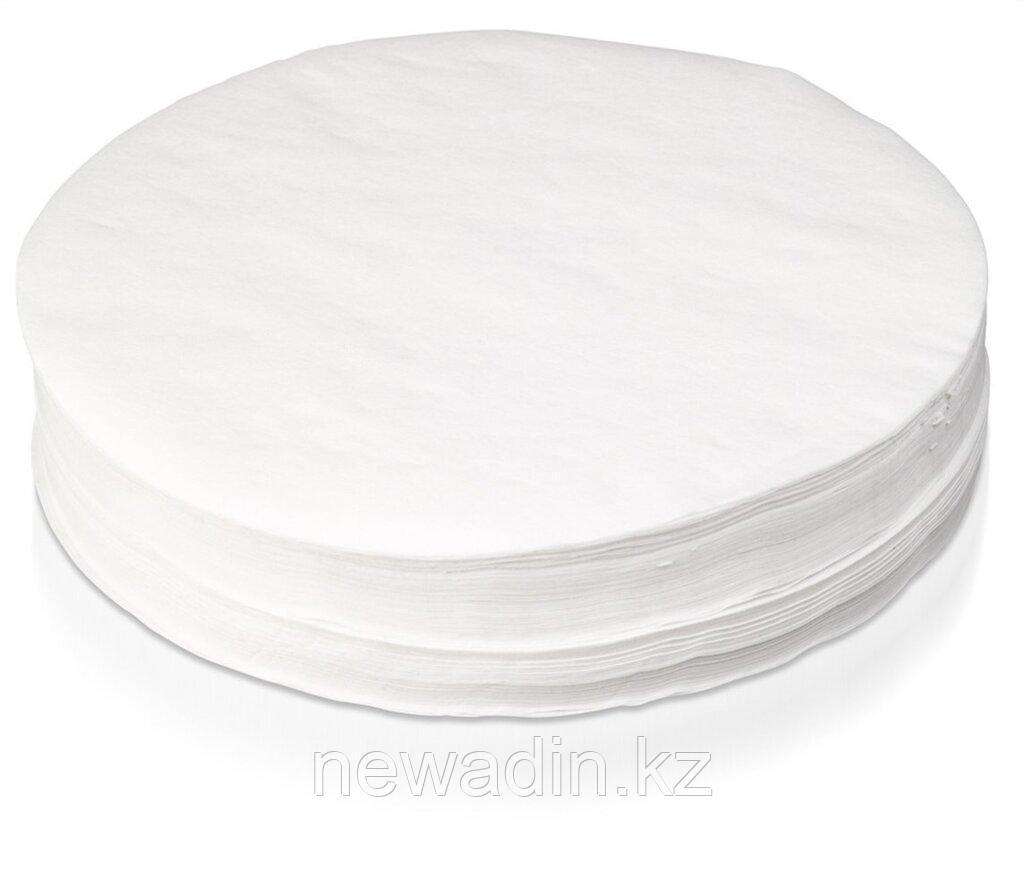 """Фильтры обеззоленные """"Белая лента"""" диаметр 90 мм"""