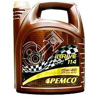 15W-40 PEMCO iDRIVE 114 минеральное моторное масло (5л)
