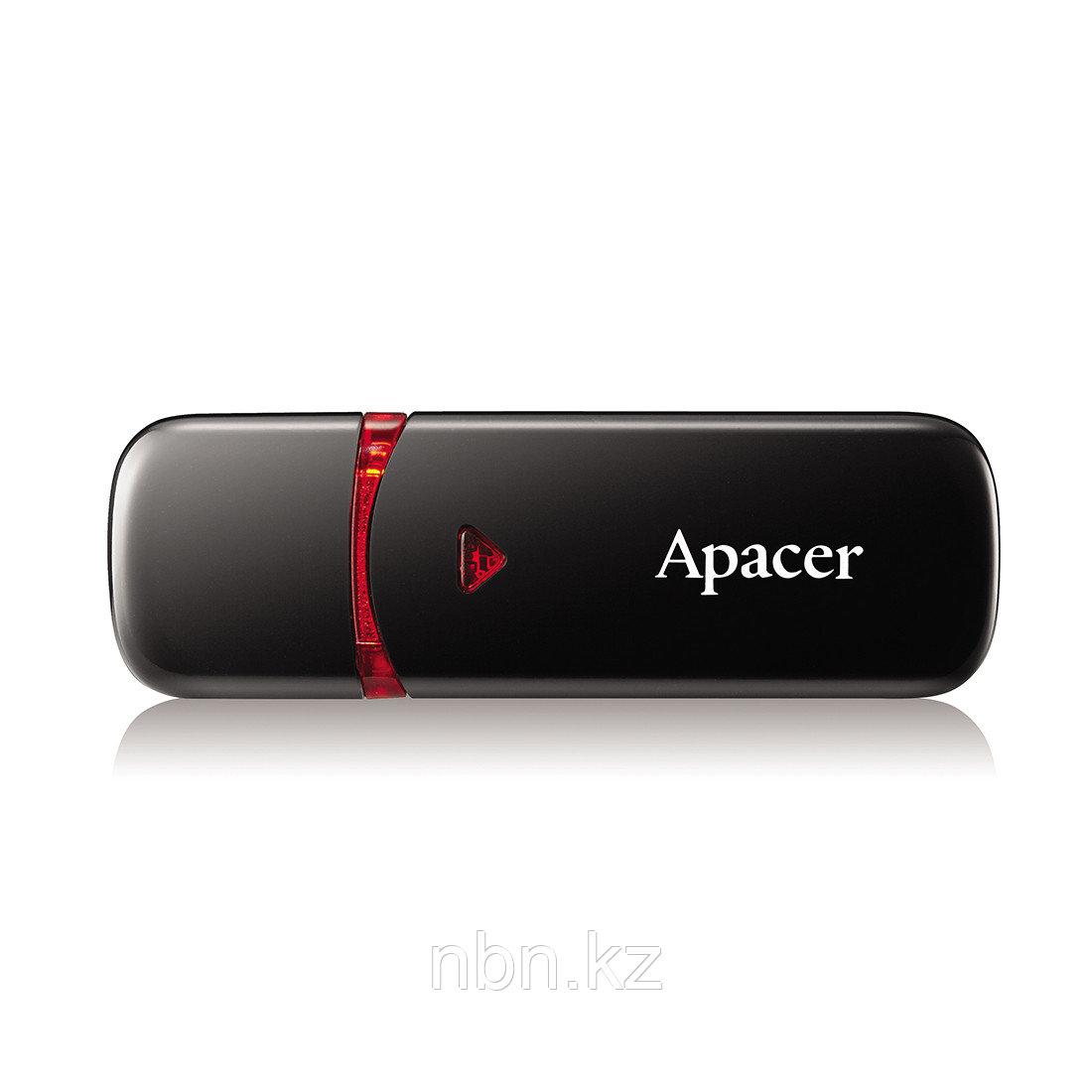 USB-накопитель Apacer AH333 32GB Чёрный - фото 1