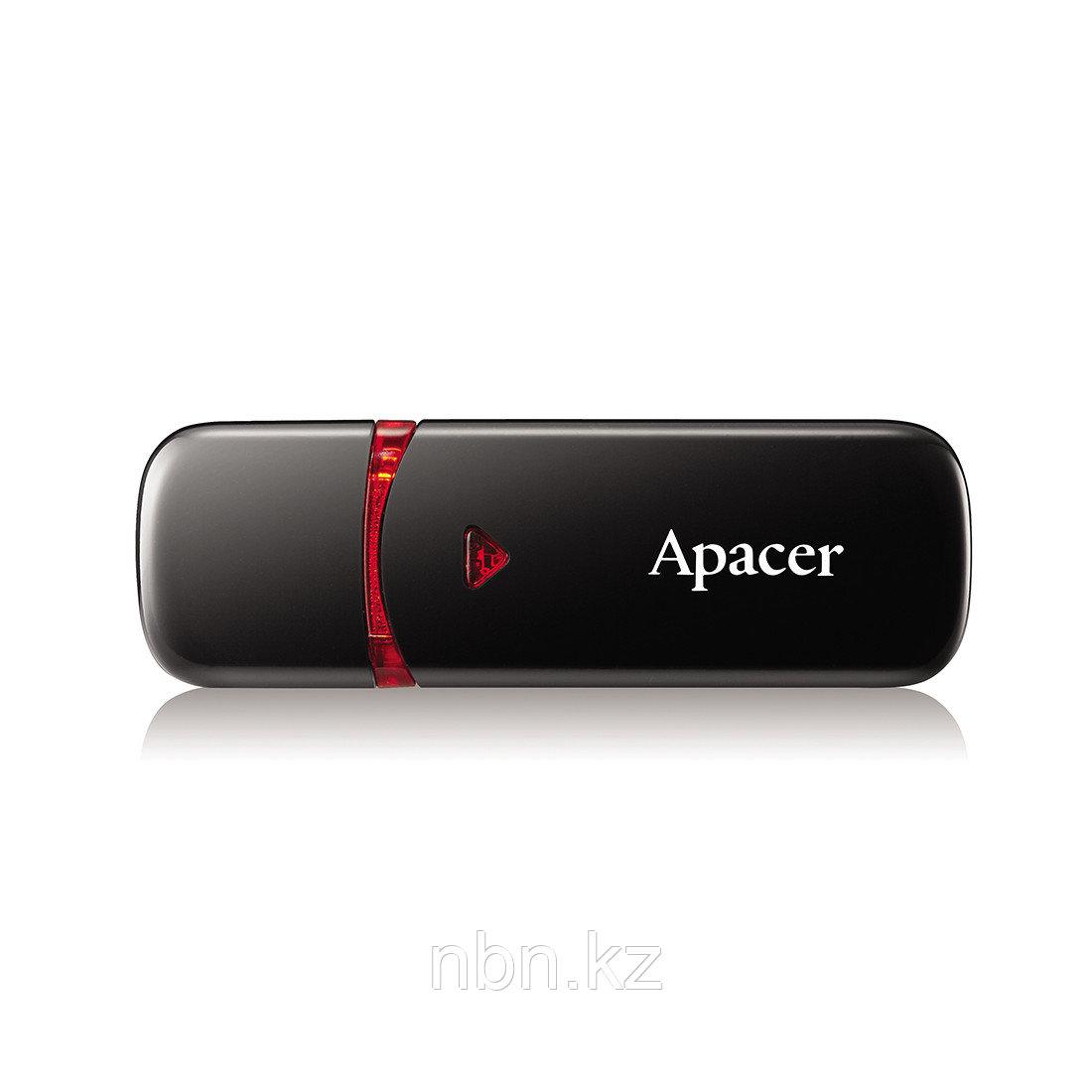 USB-накопитель Apacer AH333 64GB Чёрный - фото 1