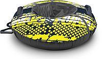 Тюбинг принтованный  Nika Sport лимонный ТБ2К-95 (диаметр чехла 1040 мм), фото 1