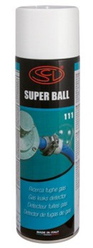 Средство контроля  ( аэрозоль спрей ) утечки газа Super Ball