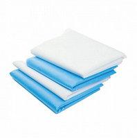 Простыня хирургическая (200*70 см спанбонд пл. 25 г/м2, голубой), шт