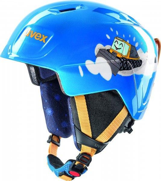 Шлем детский Uvex manic ,,blue Caterpilla'' size 51-55