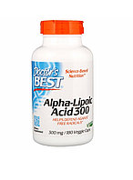 Doctor's BEST Альфа-липоевая кислота 300 мг, 180 капсул