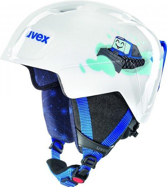 Шлем детский Uvex manic ,,white Caterpillar'' size 51-55