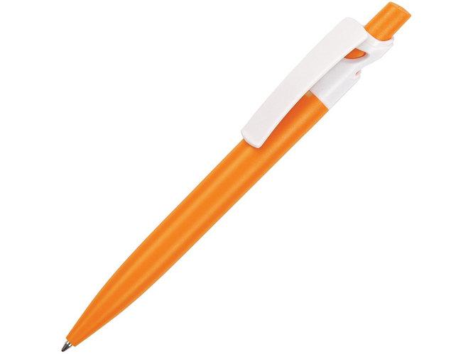 Шариковая ручка Maxx Solid, оранжевый/белый