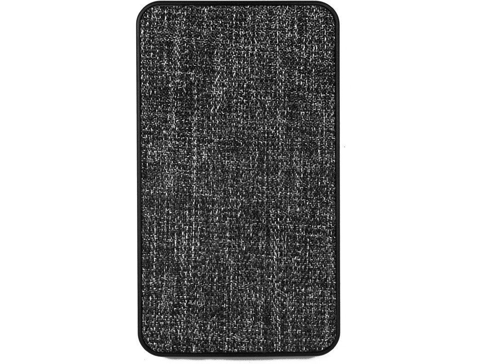 Зарядное устройство из ткани, 4000 mAh, черный - фото 4