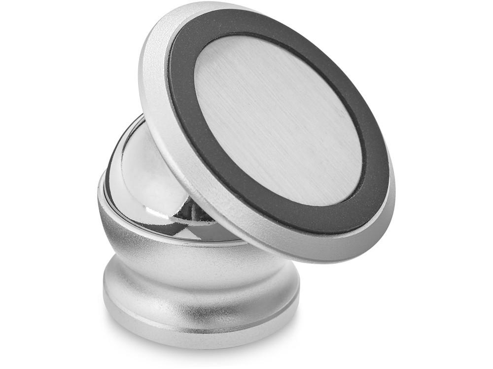 Поворотный магнитный держатель телефона Mount, серебристый - фото 1