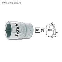 """Головка торцевая HAZET 900-13, 1/2"""", 13 мм, 6 граней"""