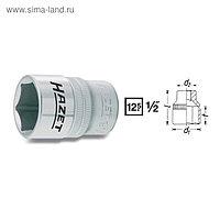 """Головка торцевая HAZET 900-14, 1/2"""", 14 мм, 6 граней"""