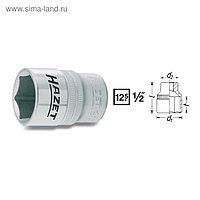 """Головка торцевая HAZET 900-19, 1/2"""" 19 мм, 6 граней"""