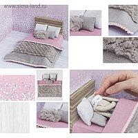 Кроватка для игрушки малютки «Сны принцессы», набор для шитья, 21 × 29,7 × 1 см