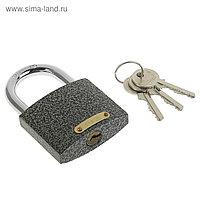 "Замок навесной ""Фабрика Замков"" 303F-60, d=8.9 мм, 3 ключа , картонная коробка"