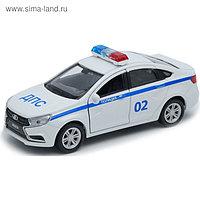 Коллекционная модель машины LADA Vesta «Полиция ДПС», масштаб 1:34-39