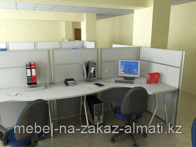 Мебель для кабинета на заказ Алматы, фото 2
