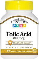 БАД Фолиевая кислота 800 мкг (180 таблеток)