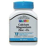 БАД Кальций Магний Цинк + Витамин Д3 (90 таблеток)