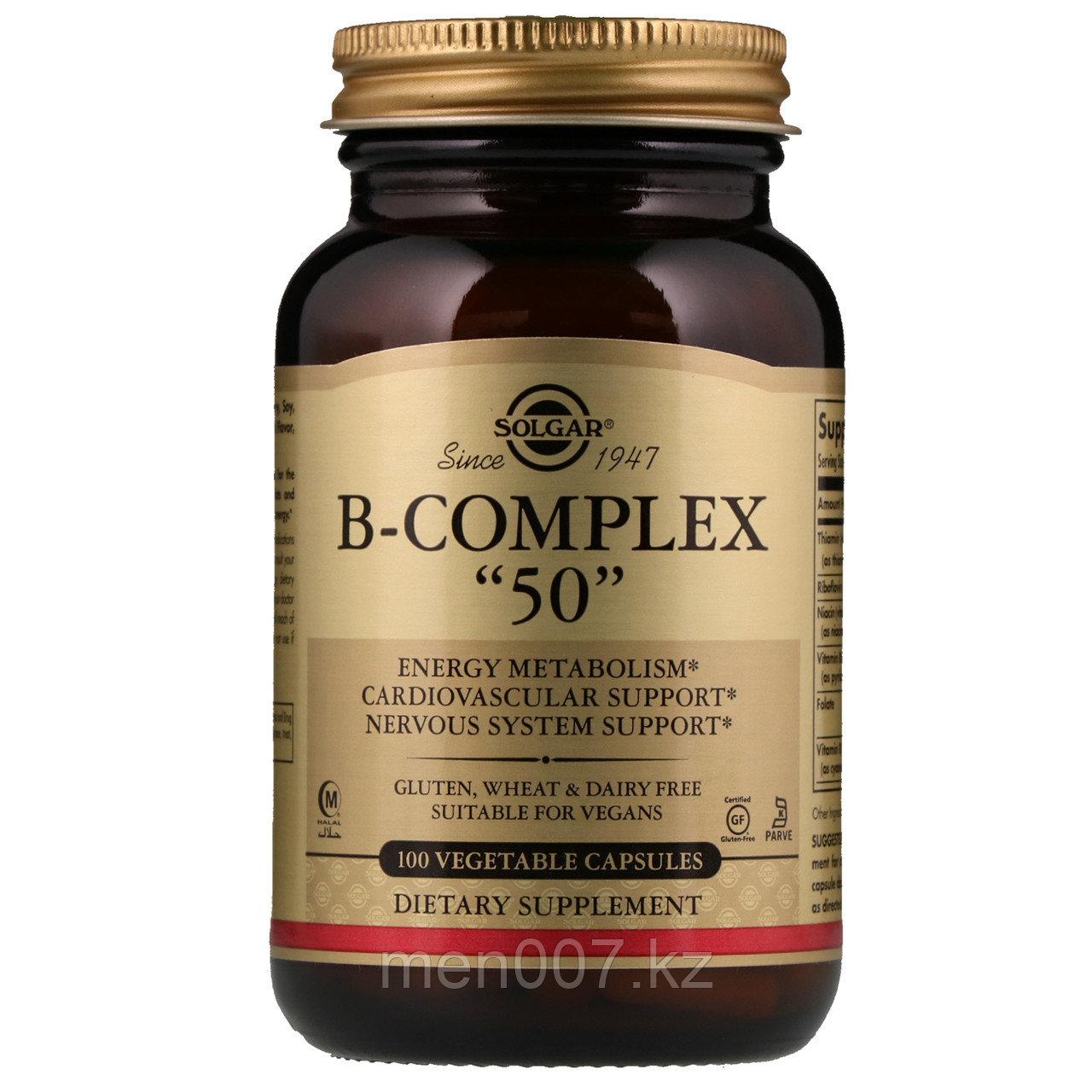 БАД Комплекс витаминов группы B (Complex B) (100 капсул)