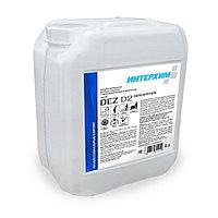 ИНТЕРХИМ DEZ D2 concentrate. Концентрированное моющее средство с дезинфицирующим компонентом 5л.