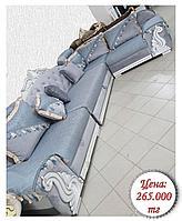 Длинный угловой раскладной диван на заказ (различные модификации)
