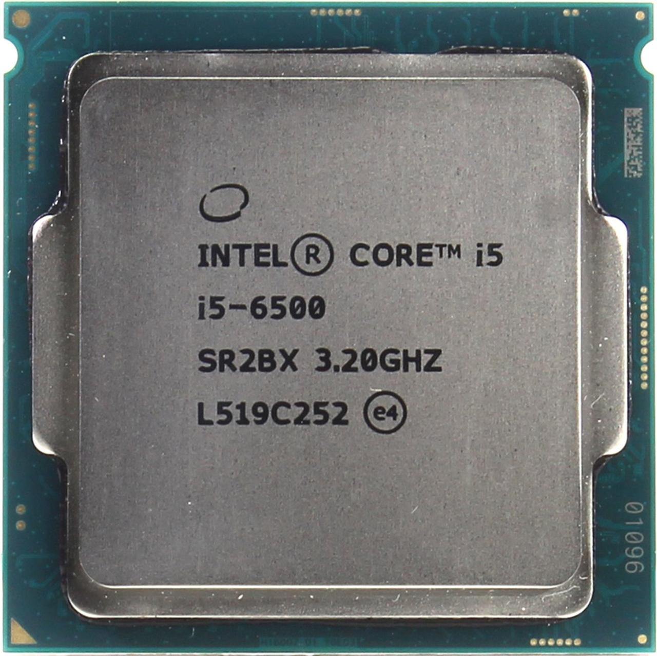 CPU Intel Core i5-6500, 3,2 GHz, 6 Mb