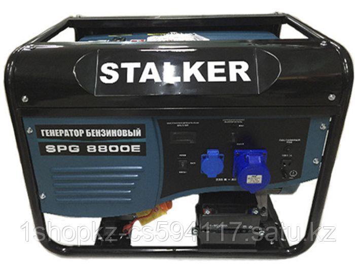 Бензиновый генератор SPG 8800E STALKER