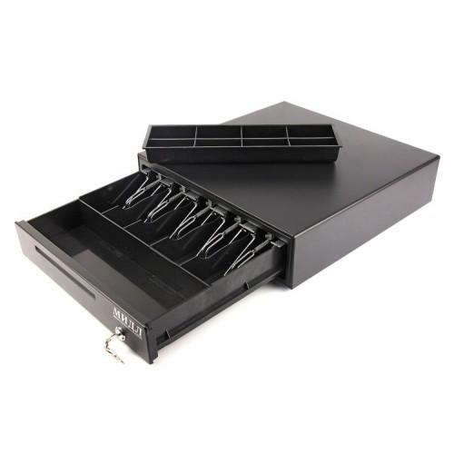 Денежный ящик автоматический «Большой» 2.0/К0 (б.черный)