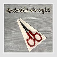 Ножницы для рукоделия с закруглёнными концами, красные