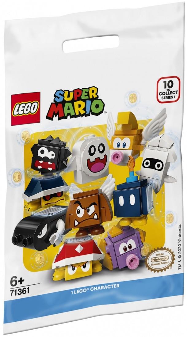 71361 Lego Минифигурка Super Mario 1-й выпуск (неизвестная, 1 из 10 возможных)