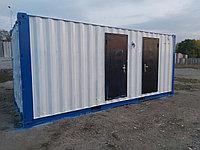 Жилой контейнер 20 фут. с санузлом и душем, фото 1