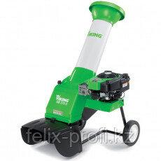 Садовый бензиновый  измельчитель VIKING GB 370.2 S+SET 300  мощность 3,3 кВт/4,5 л.с, толщ. сучка 35 мм.