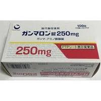 Гаммалон 250 мг (Gamalon, Daiichi-Sankyo), 100 табл, ноотроп, мозговое кровообращение, паралич, травма мозга