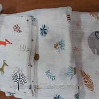 Муслиновые пеленки для новорожденных( размер120х120), фото 2