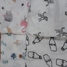 Муслиновые пеленки для новорожденных( размер120х120)