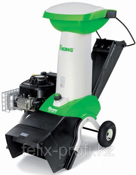 Садовый бензиновый  измельчитель VIKING GB 460.1 +ATO 400 мощность 6 кВт/9 л.с, толщ. сучка 75 мм.