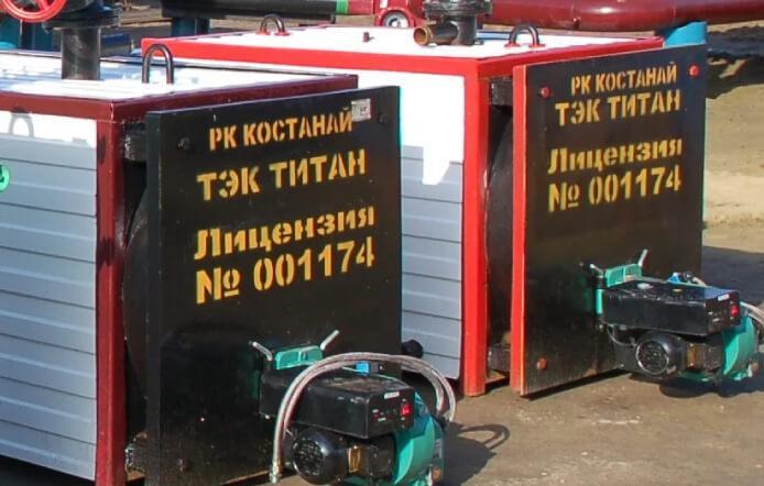 Газовый котел КВЖ-1 площадь м² 1200