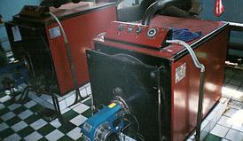 Газовый котел КВЖ-3 площадь м² 3000