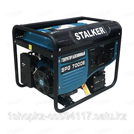 Бензиновый генератор SPG 7000E (N) Stalker, фото 2