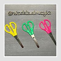Ножницы канцелярские в блистере, цветные